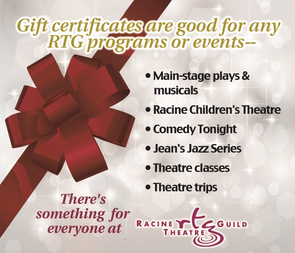 Flex Passes Gift Certificates Racine Theatre
